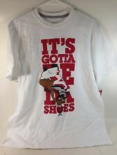 Nike Jordan Da Shoes Tee Men's Size L  622081 100  SIZE L  FREE SHIPPING -*AC