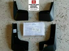 NEW OEM 2014-2019 TOYOTA COROLLA MUDGUARDS AND HARDWARE SET OF 4