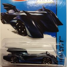 NEW Hot Wheels Batmobile Brave and the Bold 2015 No 63 Blue Genuine Batman