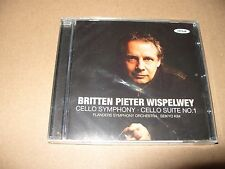 Benjamin Britten - Britten: Cello Symphony; Cello Suite No. 1 (2011) cd new & se