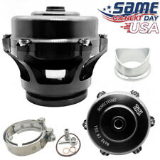 Q Series 50mm Blow Off Valve BOV (Ver. 2) fits TIAL Flange BLACK - USA SHIPPING