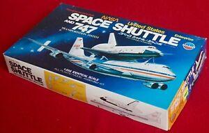 Union 1/288 Space Shuttle Enterprise & 747 Transportation System - Sealed Parts!