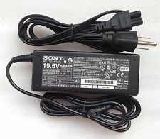 @New Original Genuine OEM 75W 19.5V AC Adapter for Sony VAIO SVS131B11L Notebook