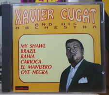 XAVIER CUGAT AND HIS ORCHESTRA COMPACT DISC THE ENTERTAINERS 1992