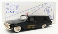 City Limits 1/43 Scale Model CL4C - 1959 Chevrolet - Coroners Office