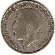 1925 George V Silver Half Crown | Key Date | Pennies2Pounds