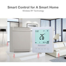 Wireless Programmable Digital LCD Heating Thermostat RF Temperature Controller