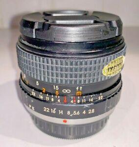Super Ozeck 28mm f2.8 Wide Angle Lens for Pentax K Bayonet film SLR cameras, 80s