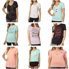 Fox Racing Ladies Short Sleeve T-Shirt Casual Tee Tank Top Summer Size XS-XL