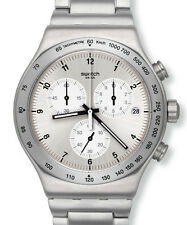 "SWATCH IRONY NEW CHRONO ""DESTINATION ZURICH"" (YVS433G) NEUWARE, OVP"