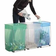 Bag Buddy Bag Holder - Versatile Metal Support Stand for 30 - 33 Gallon Plastic