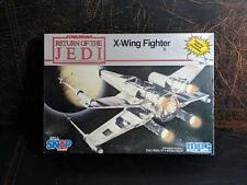 Rare Star Wars Return of the Jedi X-wing Fighter Scale Model Kit MPC 8932 ERTL
