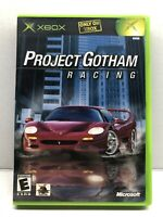 Project Gotham Racing (Microsoft Xbox, 2001) Complete w/ Manual - Tested Working