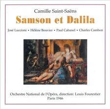 SAINT-SAENS: SAMSON & DALILA NEW CD