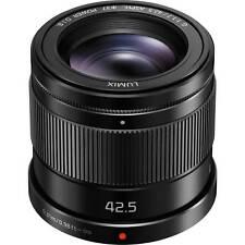 Panasonic LUMIX G 42.5mm f/1.7 ASPH. POWER O.I.S. Lens ***USA AUTHORIZED***
