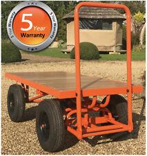 Turntable Truck Platform Trolley Cart Flat Bed Cartabouta 1000kg load  UK STOCK