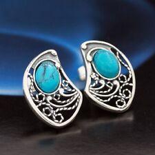 Türkis Silber 925 Ohrringe Damen Schmuck Sterlingsilber S205