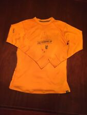 Medium Orange Stand Up Paddle Board Sup Bomber Gear POLARTEC Shirt TL7