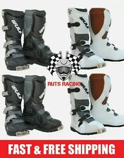 Wulfsport Cub LA Kids Youth Childrens Motocross MX Boots Quad/ATV Boots!! NEW!!