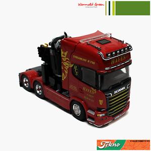TEKNO IRISH TRACTOR UNIT HAYES CABIN SERVICES SCANIA R730 V8 TOPLINE HIAB CRANE