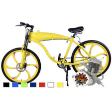 Motorized Bicycle Kit, Complete Bicycle With Built-In gas Frame Ready for Engine