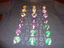 Anime Crate Rokka Braves Of The Six Flowers Enchant Womens Large T-shirt K9