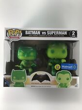 Funko Pop! Heroes - Batman vs Superman Gitd 2-Pack - Walmart Exclusive