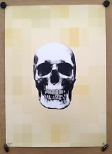"RYCA-RYAN CALLANAN  sérigraphie""Bone Pixels""skull sign-num-A/P   -kaws/dolk/C215"