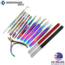 Nail Art Cuticle Pusher Gel Remover Stainless Steel Manicure Pedicure Tools DIY