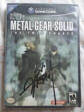 Metal Gear Solid The Twin Snakes Signed by Hideo Kojima NYCC Autographed OOAK