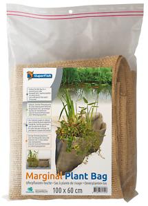 Teich Uferpflanzen-Tasche 100x60 cm Pflanztasche für Teichpflanzen