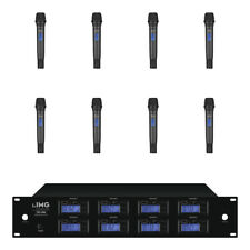 IMG Stageline TXS-686 UHF Wireless Microphone 8 Channel Handheld System