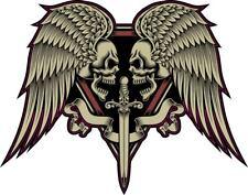 Signo de moto cráneo Motor Cycles Coche Calcomanía Vinilo sticker casco Harley Davidson