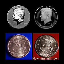 2018 P+D+S+S Kennedy Half Dollar Reverse + Silver Mint Proof + PD from Mint Set