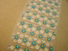 Jamberry 1/2 sheet Dollhouse Floral pattern on clear