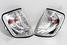 Corner Lights Turn Signals PAIR Crystal LEFT+RIGHT LH+RH MERCEDES W124 1986-1995