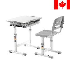 PrimeCables® Kids Ergo Height Adjustable Children's Desk & Chair Set +Cup Holder