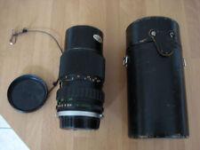 Olympus om system zuiko auto zoom 1:4  75-150mm lens