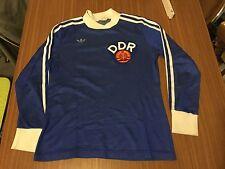 Vintage adidas RDA camiseta/Jersey-made en Inglaterra nº 3 rare Collectors Item