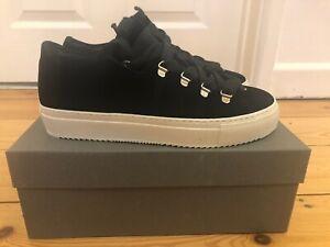 Brand New In Box Black AllSaints Bailey Sneakers Size UK 6 / EU 39