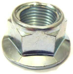 BZP M10 x 1.25 Smooth Faced Locking Flange Nuts (Packs of 6) - Multi-Listing