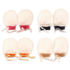 Newborn Baby Breathable Mesh Gloves Face Cottons Anti Scratching Infants Mittens