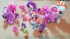 Lot of 15 My Little Pony Figures dolls toy plush rainbow dash