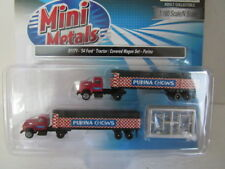Classic Metal Works N Scale '54 Ford Tractor/Trailer Purina Chows 2Pk BTTG