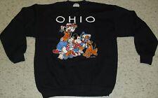 Disney sweatshirt Vintage 90's Mickey Mouse ds deadstock OHIO Crew Neck NEW XL