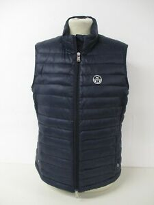Quilted Gilet Body Warmer Jacket, NORTH SAILS, Navy Blue Ladies Large, UK 14