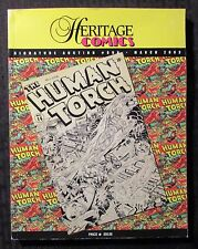 2003 Heritage Comics Signature Auction Catalog #806 FVF 7.0 324pgs