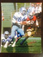 DOUG COSBIE  Signed Autographed Dallas Cowboys 8x10 PHOTO GDst Hologram