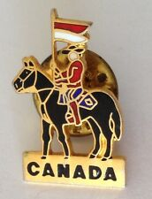 Canada Military Lancer & Horse Pin Badge Rare Army Vintage Souvenir (G7)