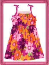 NWT 7 Gymboree WILD FOR ZEBRA flowers Cotton Jersey SLEEVELESS DRESS magenta